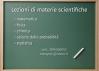 Ripetizioni di materie scientifiche a L'Aquila